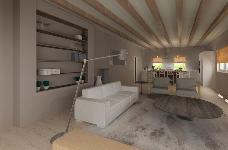Vivienda Unifamiliar Diseño de Interiores - Interiorismo DC & DC