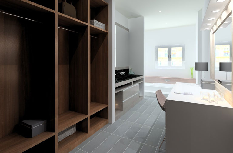 Vivienda Unifamiliar Diseño de Interiores