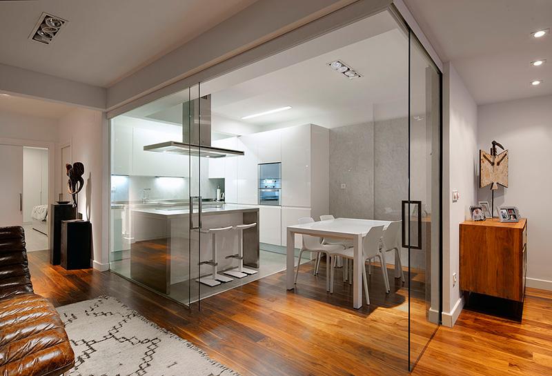 Como dividir espacios interiorismo dc dc - Interiorismo pisos pequenos ...