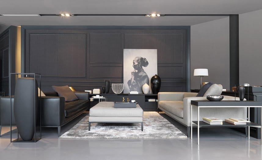 Novedades en docrys dc interiorismo dc dc - Salones pintados en gris ...