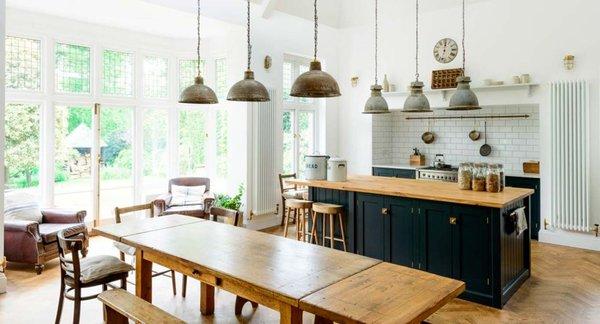Nueva tendencia, sofás en la cocina