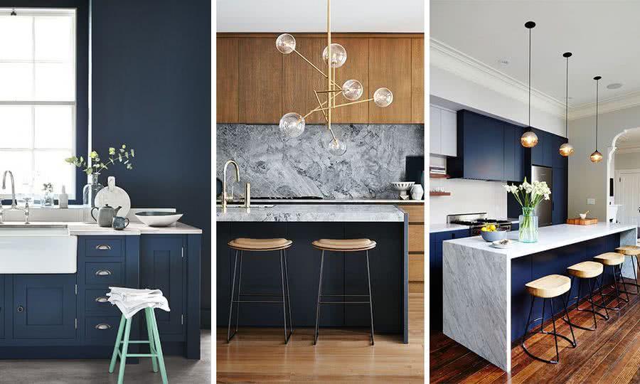 Noticias 2 interiorismo dc dc - Cocinas azul tierra ...