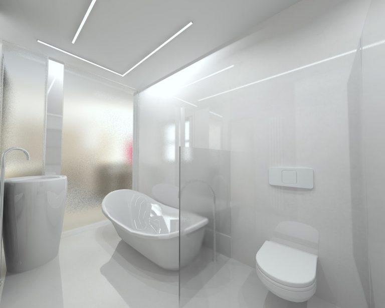 Atrayente baño de diseño moderno y sofisticado ...