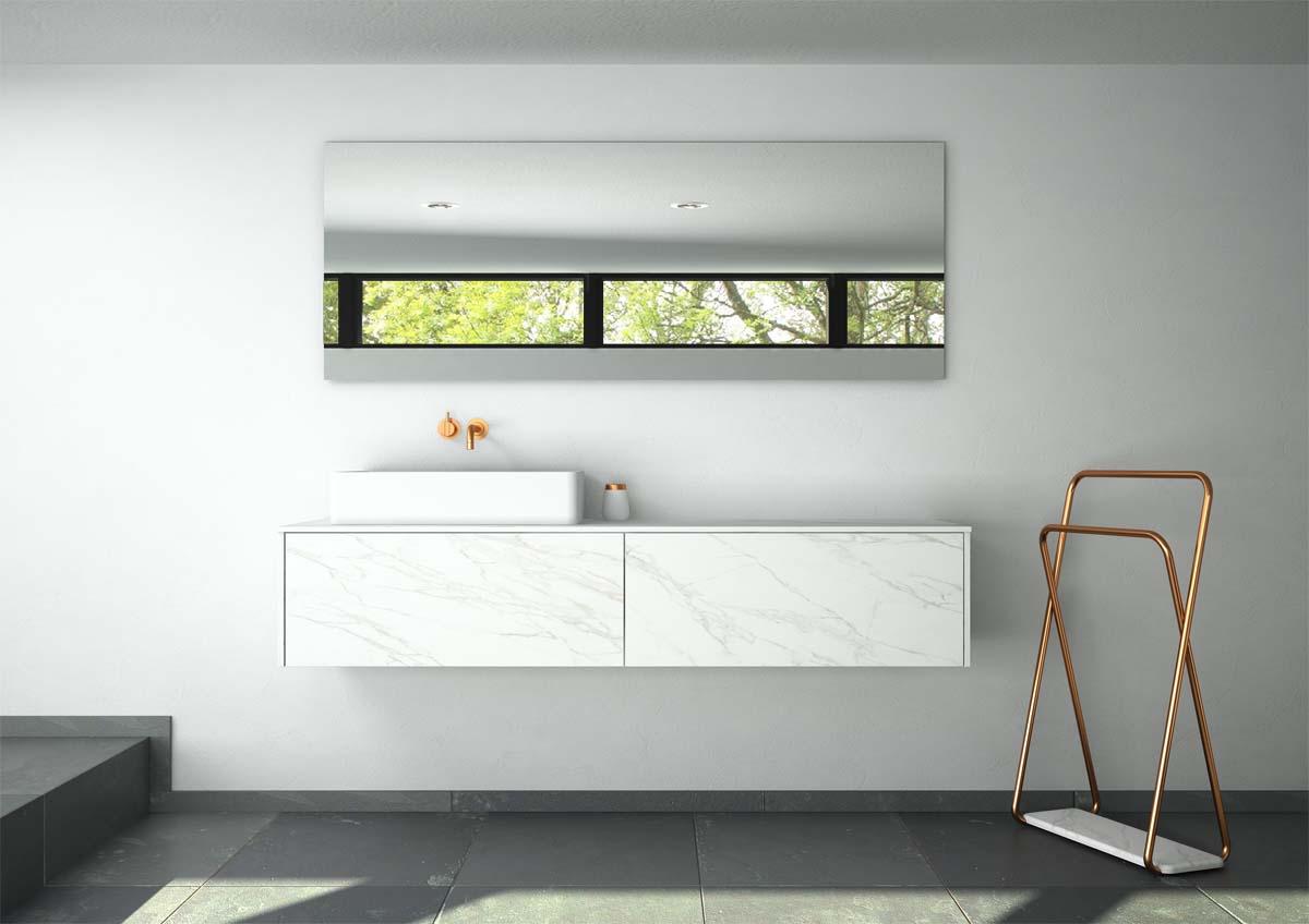 Interiorismo la importancia de los materiales en el ba o - Materiales de bano ...